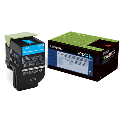 LEXMARK CS510 RP TONER CARTRIDGE CYAN 4K
